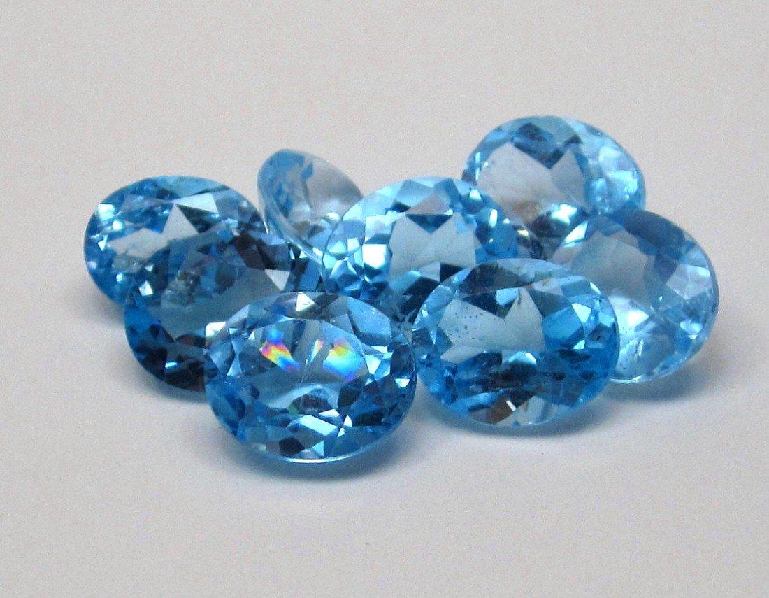 3J: High Grade Blue Topaz Gemstone Parcel
