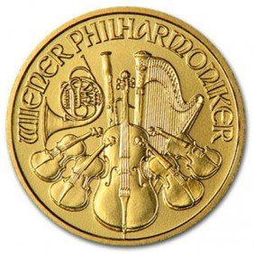 1 Oz. Gold Philharmonic Bullion -