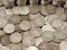 (100) Morgan Silver Dollars