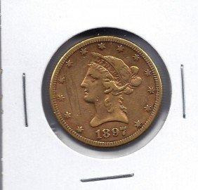 1897 P $ 10 Gold Liberty Coin