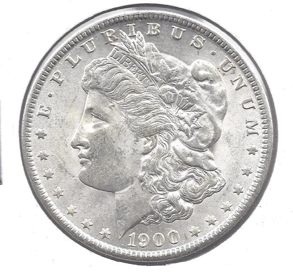 10N: 1900 O Gem Bu Morgan Silver Dollar