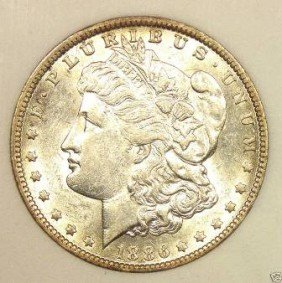 1886 P Prooflike Morgan Dollar