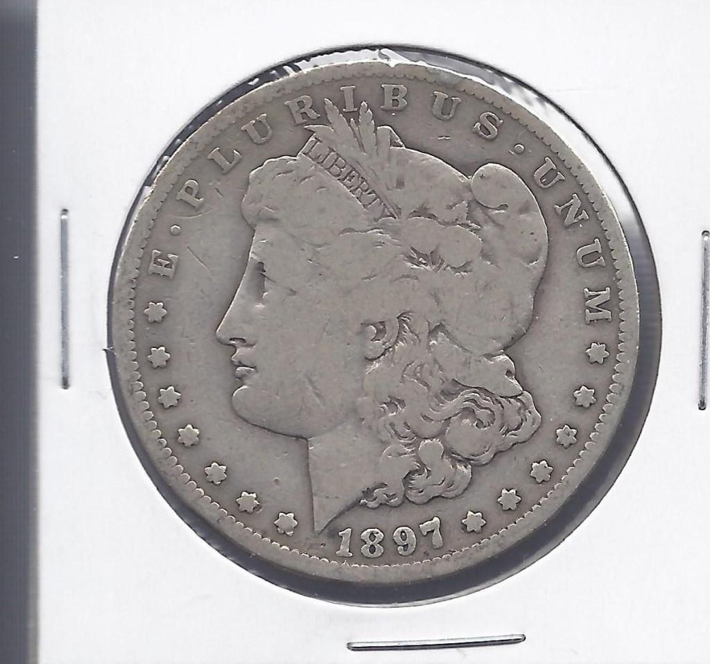 15N: 1897 S Semi Key Date Morgan