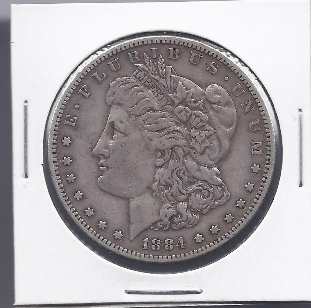 16N: 1884 S Key Date Morgan Dollar
