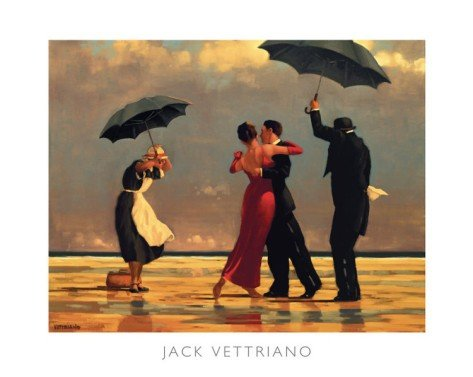 6P: The Singing Butler  by Jack Vettriano Art print 19.