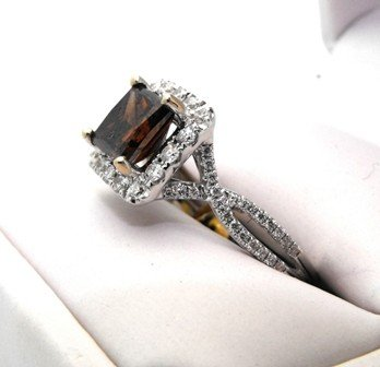 3M: 15,950 Appraised Chocolate Diamond Ring