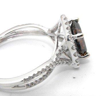 3M: 15,950 Appraised Chocolate Diamond Ring - 4