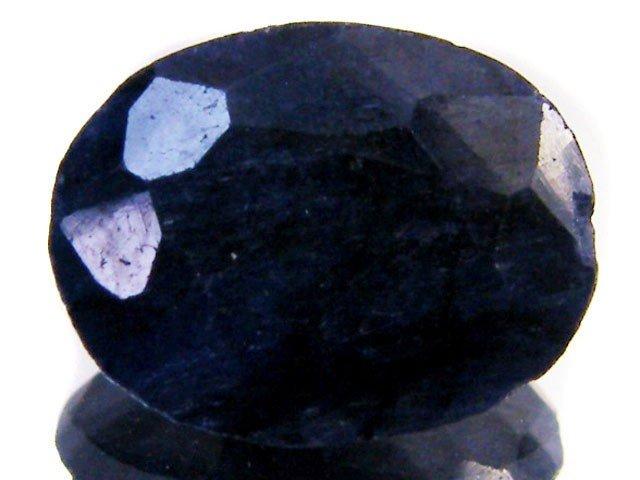10V: 5 ct. Natural Sapphire Dark Gemstone