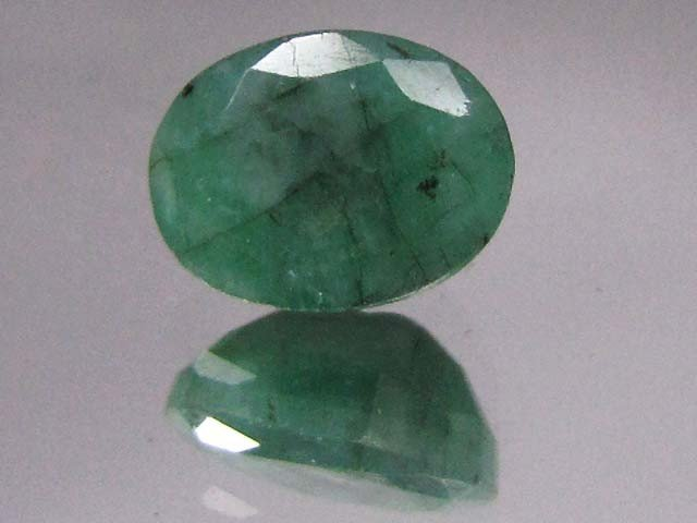 37V: 3.5 ct. NaturalEmerald Gemstone