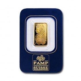 2.5 Gram Gold Bullion Pamp