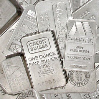 32O: Lot of 5 Misc. 1oz Silver Bars