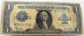 1923 Large Sized Silver Certificate