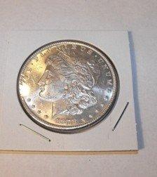 14C: 1878 s BU Morgan Dollar