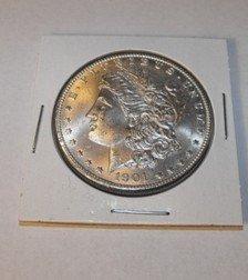 33C: 1901 O GEM BU Morgan Dollar