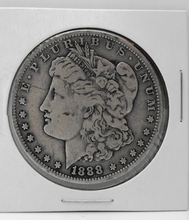 3B: 1888 O Key Date Morgan Dollar