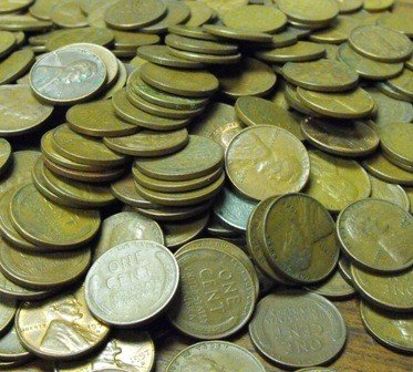 3: (400) Wheat Cents