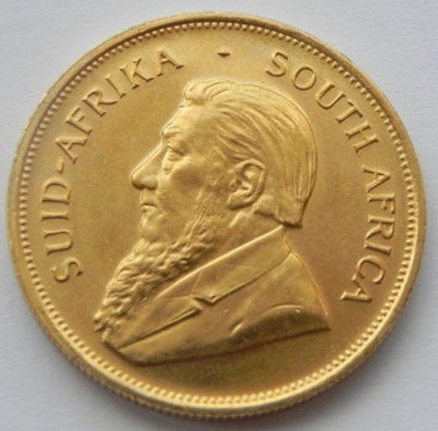 64: A 1oz. Gold Krugerrand Bullion