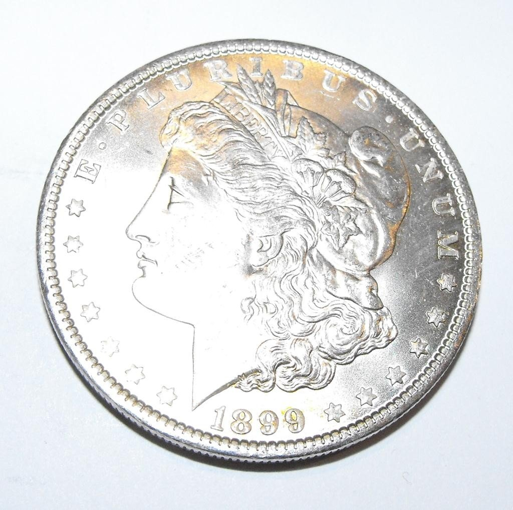 27: 1899 O BU Morgan Silver Dollar