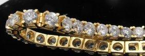 1Z: 18-20 carat Diamond Tennis Bracelet - VS 1 diamonds