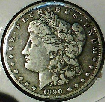 1: 1890 Carson City Morgan Silver Dollar