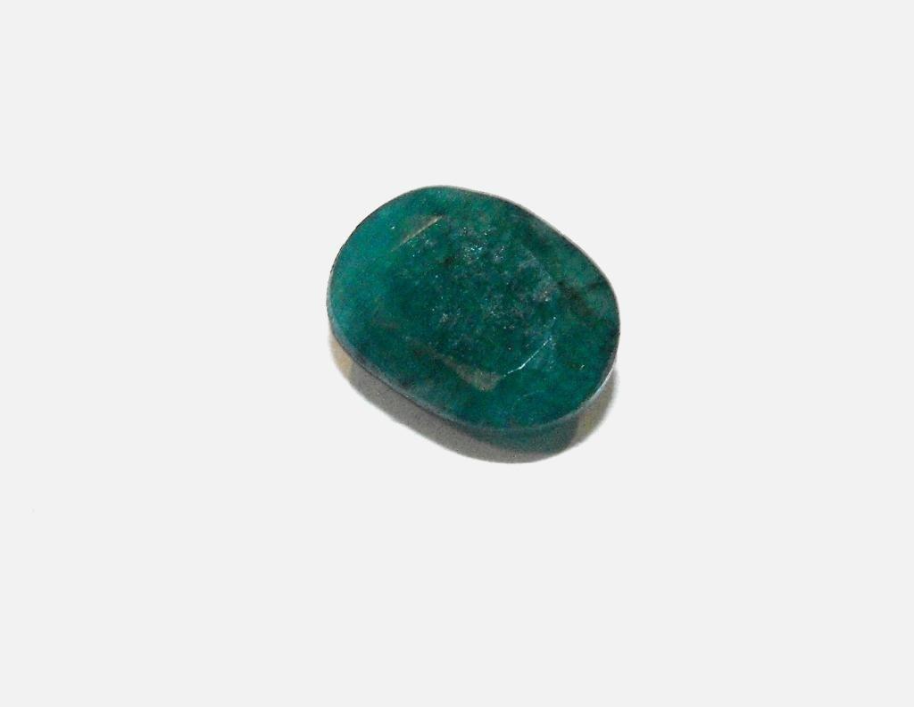 1N: 4 ct. Natural Emerald Gemstone