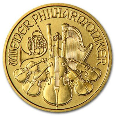 6S: 1 oz. Gold Philharmonic Bullion -