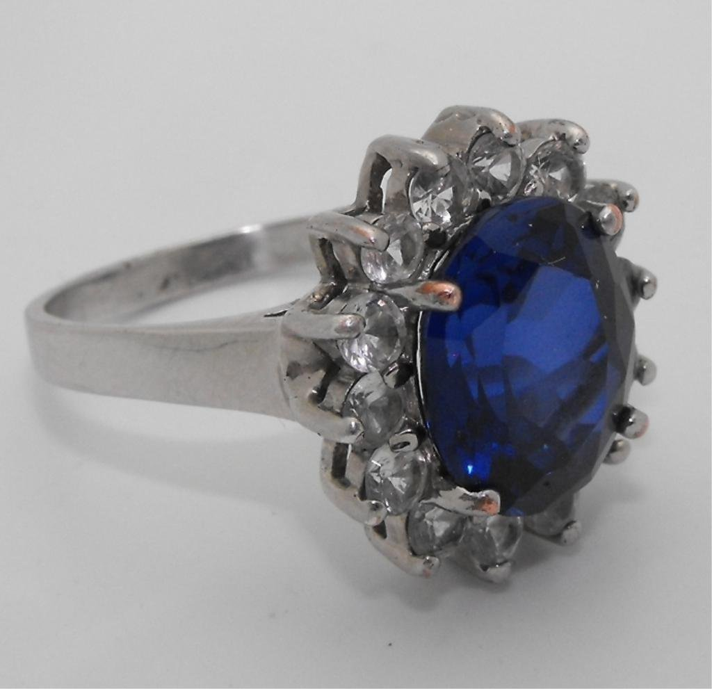 5: 8.2 ct. INCREDIBLE Ceylon Sapphire & Diamond Ring