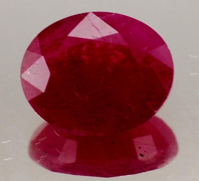 5V: 3 ct. Natural Ruby Gem