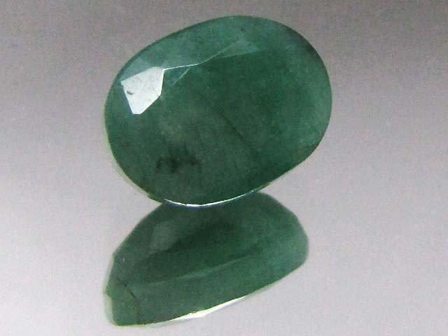 21V: 3.5 ct. Natural Emerald Gemstone