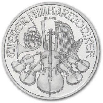 2: (1) Silver Austrian Philharmonic Bullion