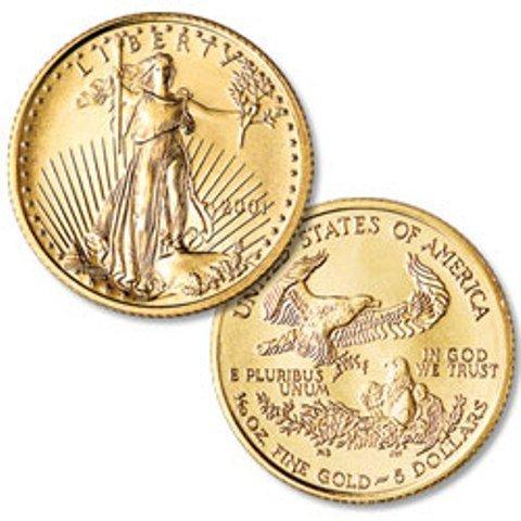 5: (1) Gold Eagle Bullion
