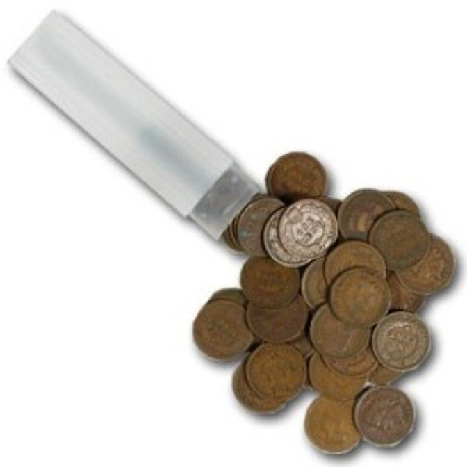 24: 50 Indian Head Cents