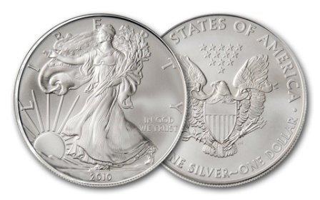 26: A 1 oz. Silver Eagle Bullion