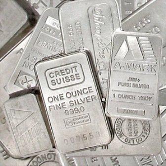 36: A 1oz. Credit Suisse Silver Bar
