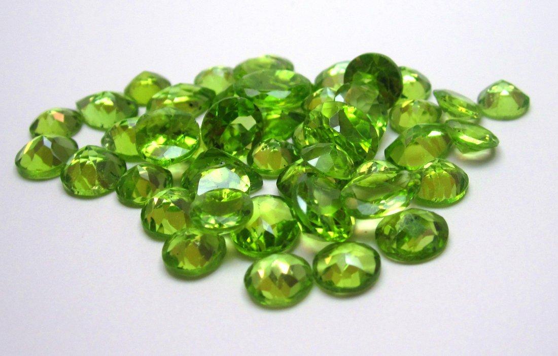 3W: Lot of 200 cts. Natural Peridot Gemstones