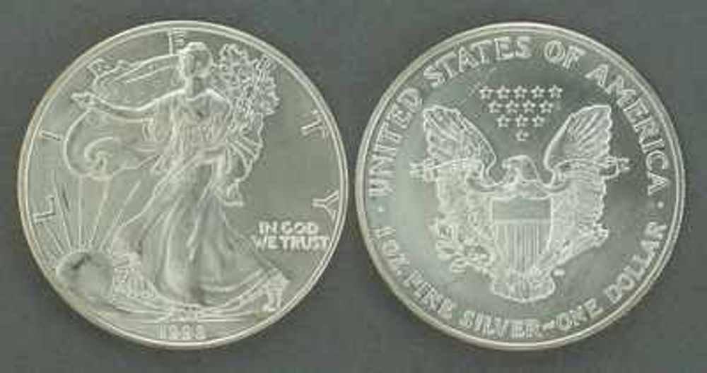 62C: Silver Eagle Random Year