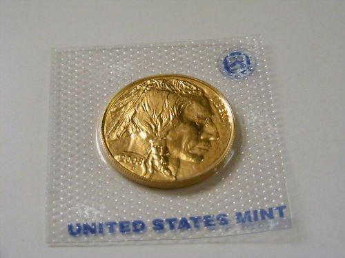 65C: 24k Gold US Buffalo Bullion - Random