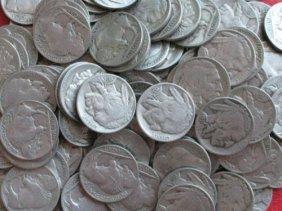 (500) Buffalo Nickels - RD