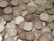 62R: (100) Morgan Silver Dollars