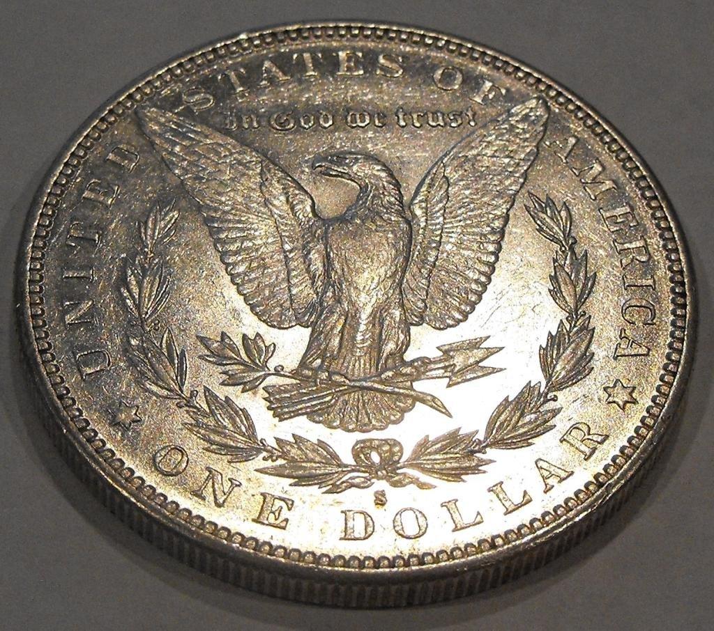 15: 1885 S key Date Morgan Dollar
