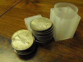 (20) Peace Silver Dollars