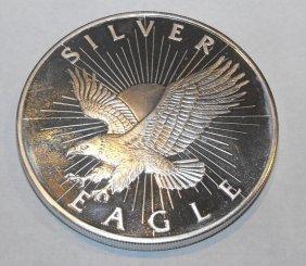 5 Oz. Pure Silver Silver Eagle Design