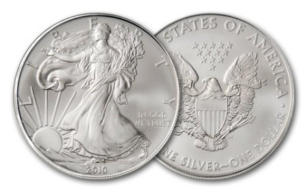 3: A 1 oz. Silver Eagle Bullion
