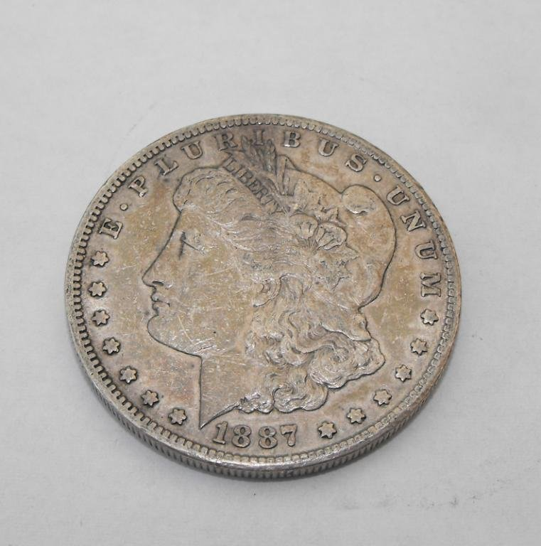 17: 1887 S Key Date Morgan