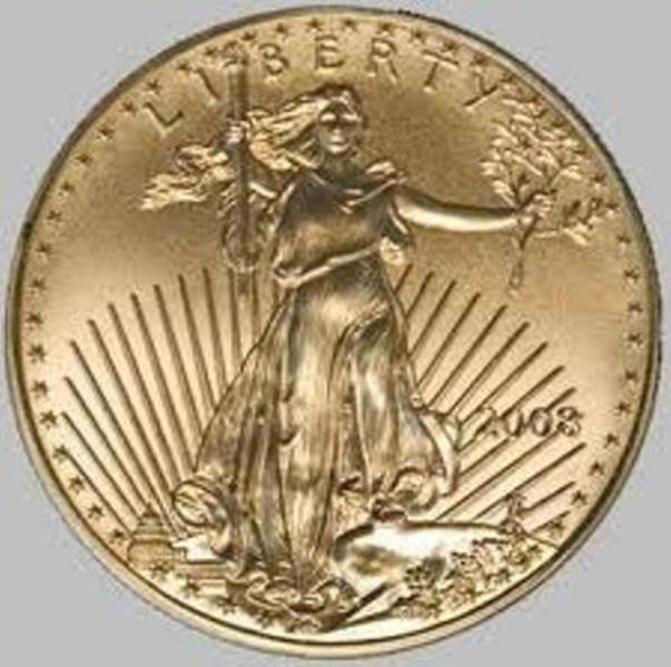 2X: 1 oz Gold Eagle Bullion - Random Date
