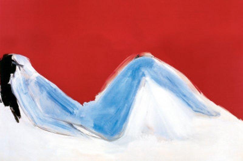 "3P: Nicolas de Stael ""Nu Allonge"" On Canvas"