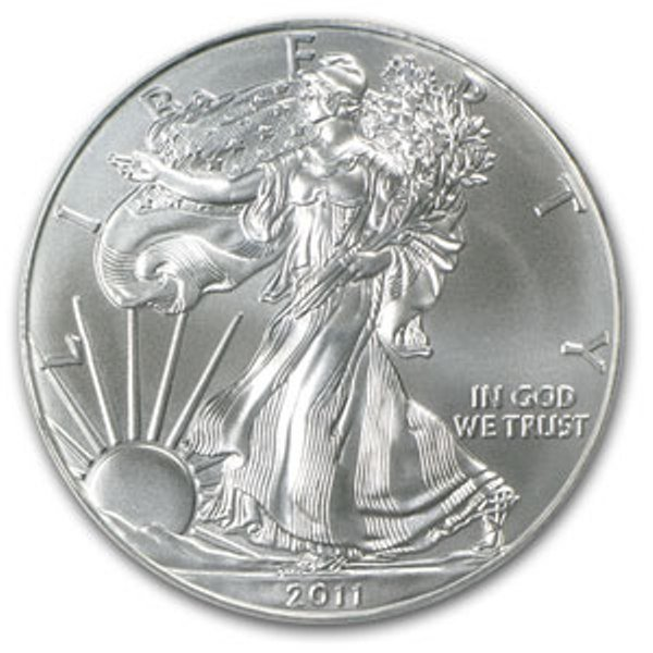 4D: A 1oz. Silver Eagle Bullion