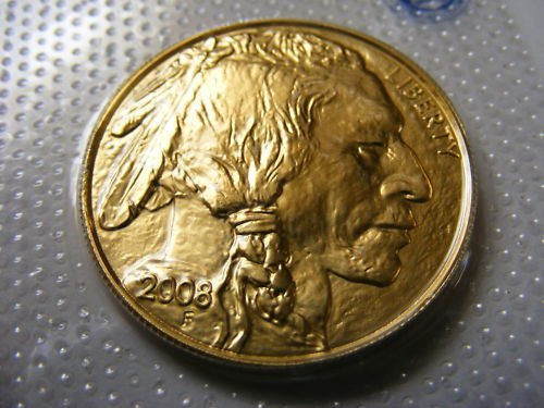 136S: 1 oz. Gold Buffalo Bullion Coin 24k