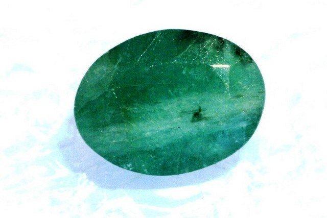 6V: 4 ct. Natural Emerald Gemstone