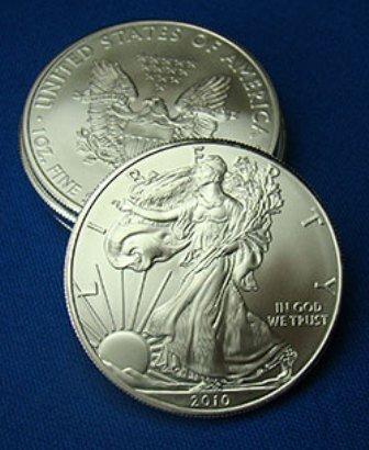3: A 1 oz. Silver Eagle Bullion
